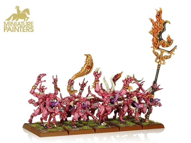 GOLD Pink Horrors of Tzeentch