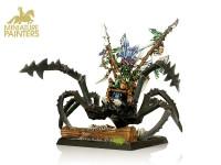 GOLD Goblin Boss on Gigantic Spider