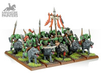 SILVER Goblin Wolf Riders