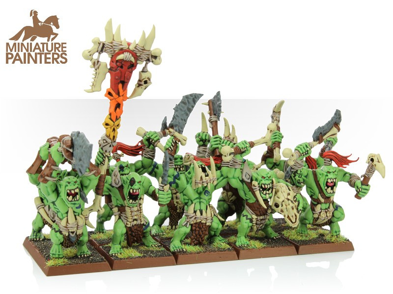 BRONZE Savage Orcs