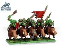 LEAD Orc Boar Boyz