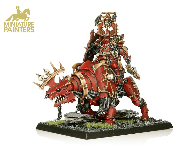 GOLD Khorne Lord on Juggernaut