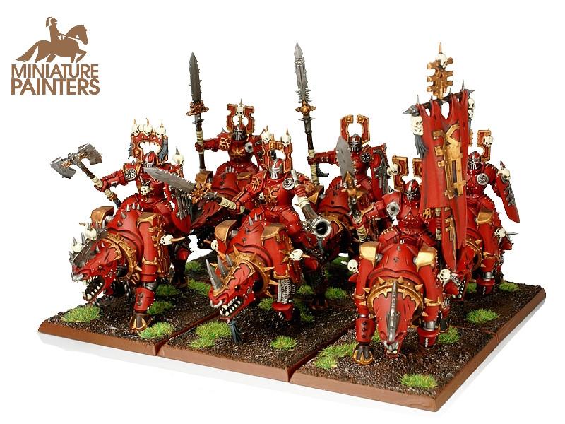 BRONZE Mighty Skullcrushers of Khorne