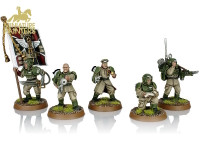 GOLD Cadian Command Squad