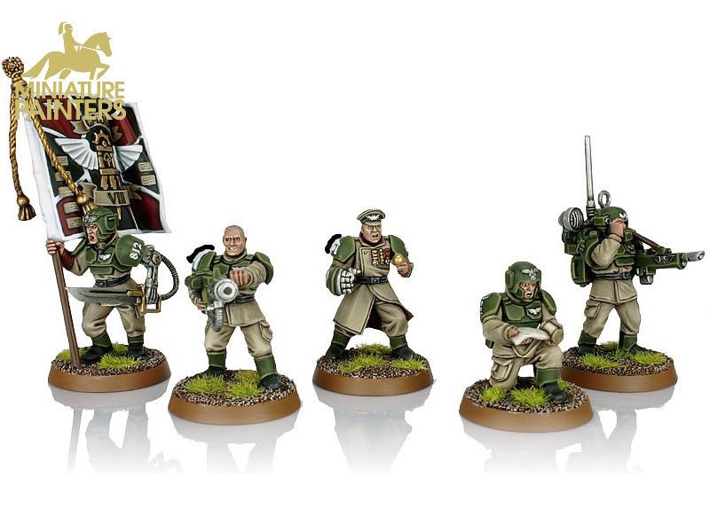 GOLD Cadian Command Squad