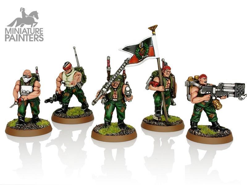 SILVER Catachan Command Squad