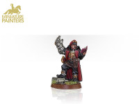 ASTRA MILITARUM COMMISSAR WITH POWER FIST