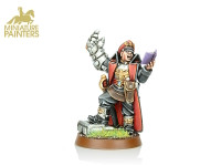 GOLD Commissar with Power Fist
