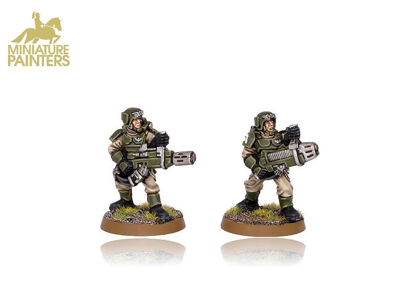 GOLD Cadian with Plasma Gun and Meltagun