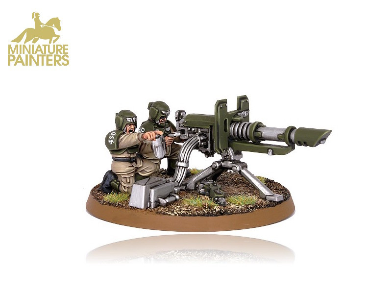GOLD Cadian Heavy Weapon Team