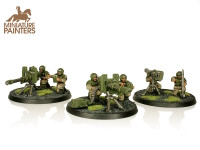 BRONZE Cadian Heavy Weapon Squad
