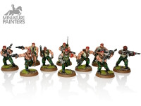 SILVER Catachan Jungle Fighters