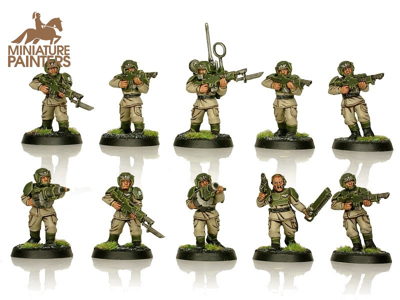 BRONZE Cadian Shock Troops