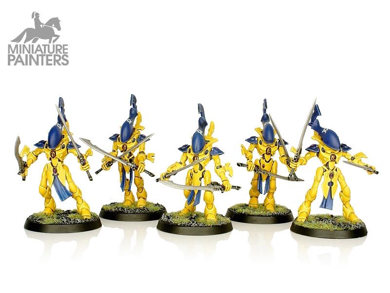 SILVER Wraithblades