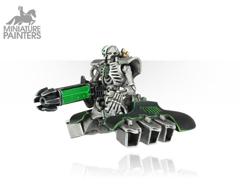 SILVER Necron Destroyer
