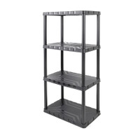 4 - Tier Plastic Shelf Unit TTX-320400