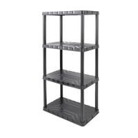 4 - Tier Plastic Shelf Unit TTX-320400