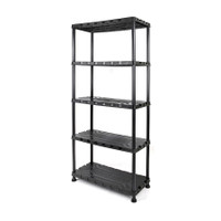 5 - Tier Plastic Shelf Unit TTX-320402