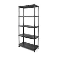 5 - Tier Plastic Shelf Unit TTX-320402
