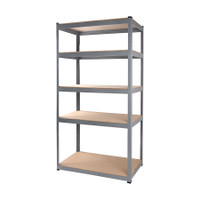 5 Shelf Standard Storage Rack 101.5 x 40.5 x 183 cm TTX-329101