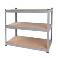 3 Particle Board-Shelf Rack 101.5 x 40.5 x 183 cm TTX-329104