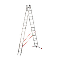 ProfiLot - Aluminium Multi-Purpose 2x15 Rungs Ladder