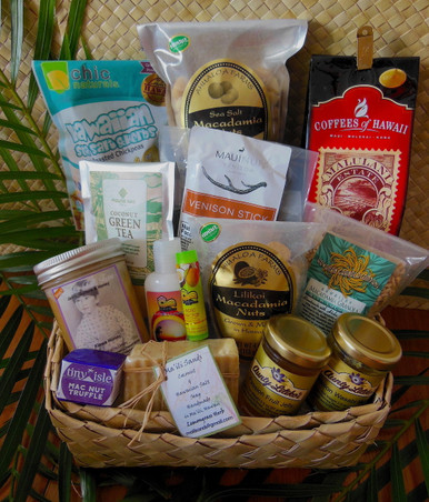 Taste of the Hawaiian Islands Basket