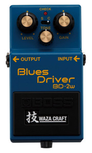 BOSS BD-2W Waza Craft Blues Driver - Ships from USA