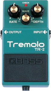 BOSS TR-2 Tremolo Pedal - Ships from USA
