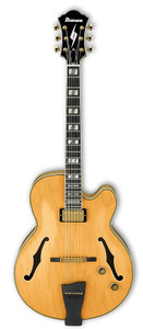 Ibanez Electric Guitar Pat Metheny Signature Natural PM200NT Hollow Body