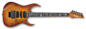 Ibanez Electric Guitar RG8570Z j.custom BBE (Bright Brown Rutile)