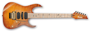 Ibanez Electric Guitar RG8550MZ j.custom BBE (Bright Brown Rutile)