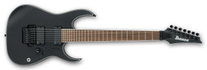 Ibanez Electric Guitar RGIR37BE Iron Label BKF (Black Flat)