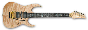 Ibanez Electric Guitar RG30JCLTD j.custom NTF (Natural Flat)