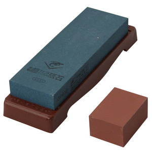Naniwa Chosera SS-600 Whetstone with Base - Ships from USA