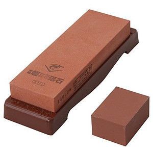 Naniwa Chosera SS-800 Whetstone with Base - Ships from USA
