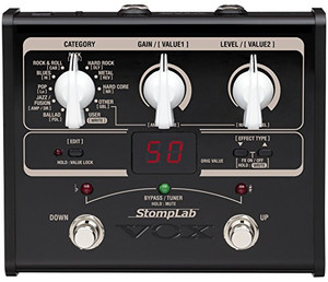 VOX StompLab 1G Modeling Guitar Effect Processor - Ships from USA