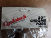 "NOS Cyclotech 20"" Chrome BMX Fork"