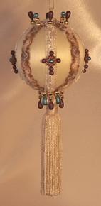Handmade Christmas Ornaments - Faith