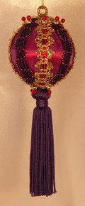 "Handmade Christmas Ornaments ""Carnival Queen"""