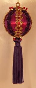 "Handmade Christmas Ornaments ""Carnival Queen"""
