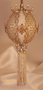 "Gift Boxed Heirloom Ornaments - Ornamentia Line - 2011 White Dove Collection ""Esther Abigale"""