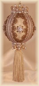 """Gift Boxed Heirloom Ornaments - Ornamentia Line - 2011 White Dove Collection """"Amelia Dora"""""""
