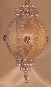 "Gift Boxed Heirloom Ornaments - Ornamentia Line - 2011 White Dove Collection ""Agnes Ann"""