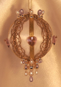 "Swarovski Crystal Birthstone Orna Mentz - ""June - Alexandrite"""