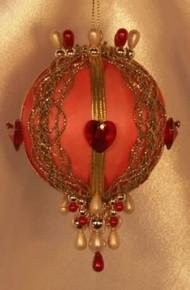 """Swarovski Crystal Birthstone Orna Mentz - """"July - Ruby"""""""