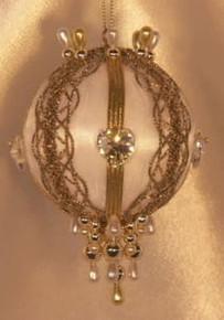 """Swarovski Crystal Birthstone Orna Mentz - """"April - Diamond"""""""