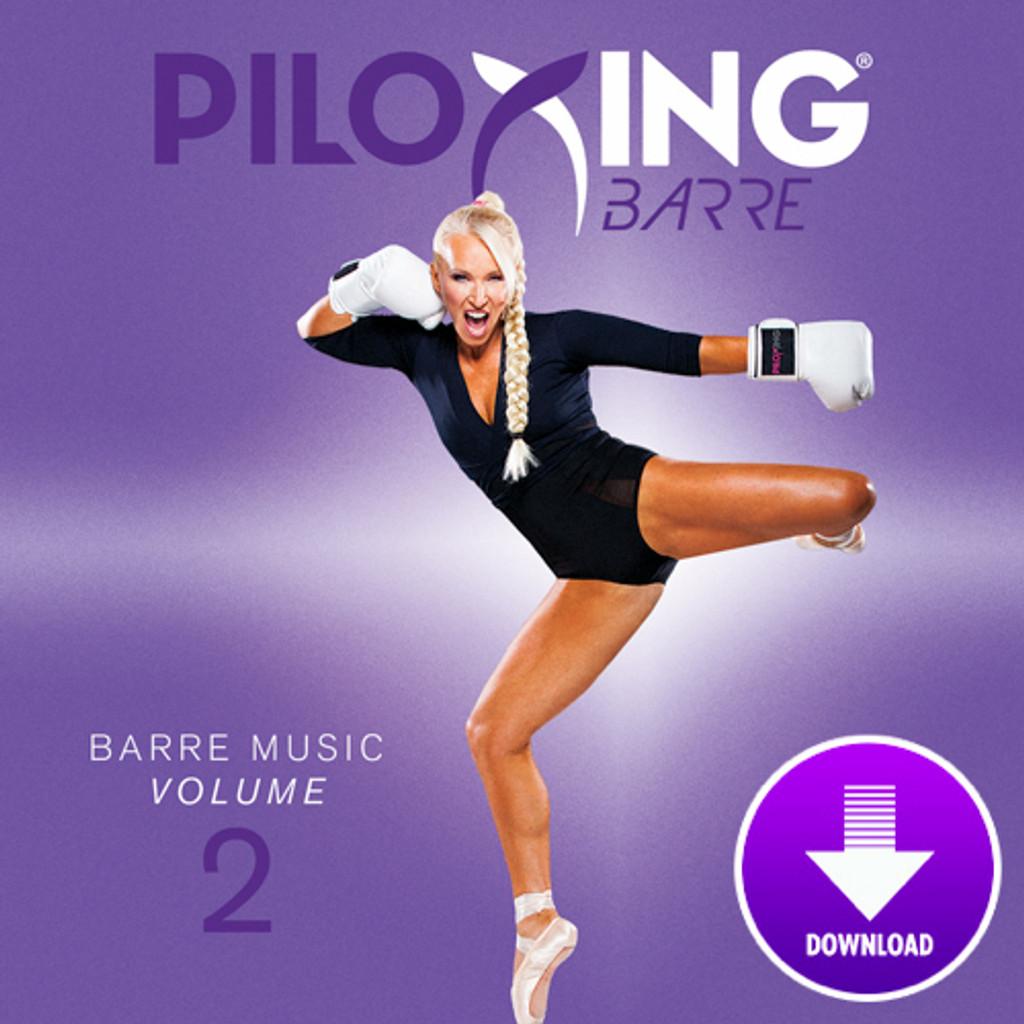PILOXING BARRE, Barre Music Vol 2-Digital Download