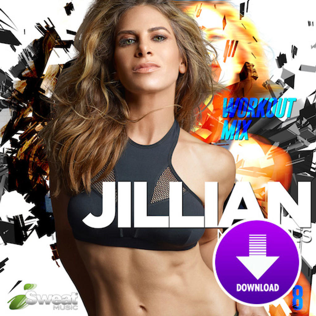 Jillian Michaels Workout Mix, vol. 8 - Digital Download