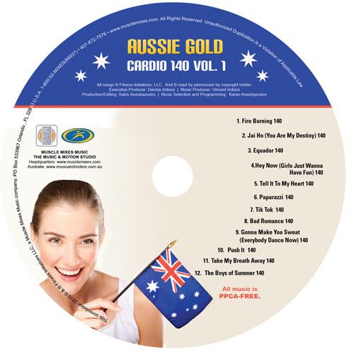 Aussie Gold: CARDIO 140 vol. 1